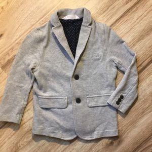 Boys gray blazer